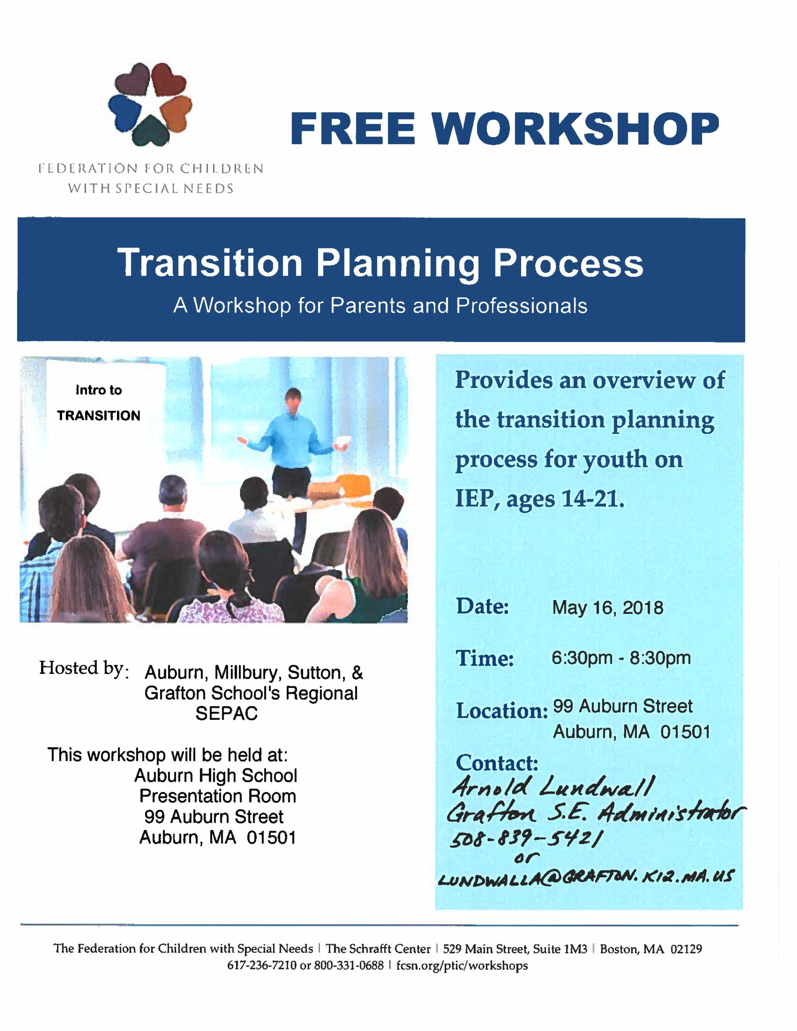 FCSN transition workshop